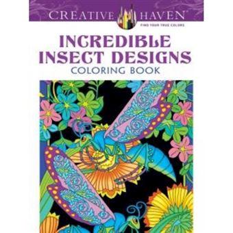 Creative haven incredible insect de