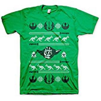 Star Wars - T-Shirt  Yoda X-Mas (L)