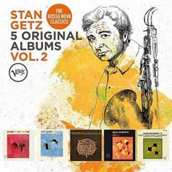 Stan Getz: 5 Original Albums Vol. 2 - 5CD