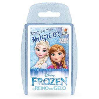 Jogo de Cartas Top Trumps Frozen - Creative Toys