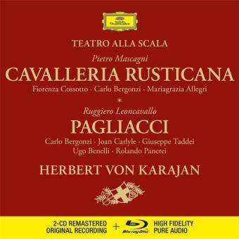 Mascagni: Cavalleria Rusticana Leoncavallo: Pagliacci - 2CD + Blu-ray