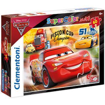 Puzzle Maxi Cars - 60 Peças - Clementoni
