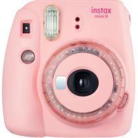 Fujifilm instax mini 9 - Rosa - Clear Edition