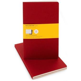 Moleskine: Caderno Quadriculado Grande Vermelho