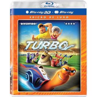 Turbo (Blu-ray 3D+2D+DVD)