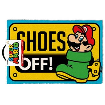 Tapete de Porta Super Mario: Shoes Off