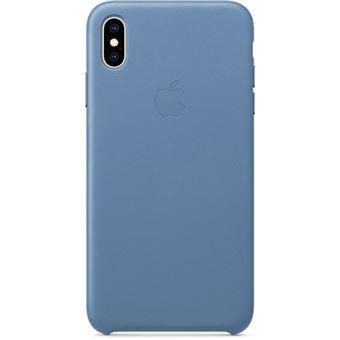 Capa Pele Apple para iPhone XS Max - Centáurea Azul