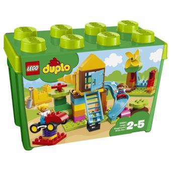 LEGO DUPLO Creative Play 10864 Caixa de Peças Grande - Parque Infantil