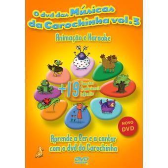 O DVD das Músicas da Carochinha Vol. 3