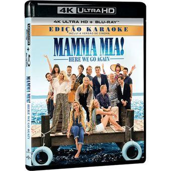 Mamma Mia! Here We Go Again - 4K Ultra HD + Blu-ray
