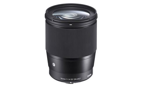 SIGMA - Objetiva Sigma 16mm f/1.4 DC DN Contemporary para Sony E