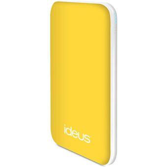 Power Bank Ideus Li-Po 5000mAh - Amarelo