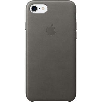 Capa Pele Apple para iPhone 7 (Cinzento Tempestade)