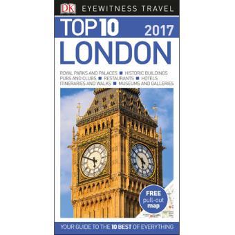Eyewitness Top 10 Travel Guide - London 2017