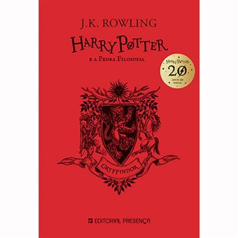 Harry Potter e a Pedra Filosofal 20 Anos: Gryffindor