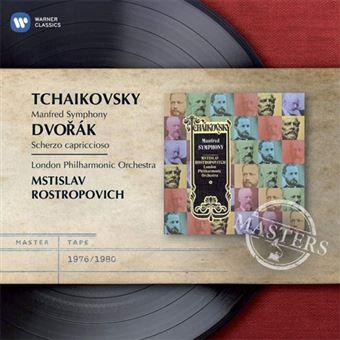 Tchaikovsky: Manfred Symphony - CD