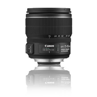 Canon Objetiva EF-S 15-85mm f/3.5-5.6 IS USM