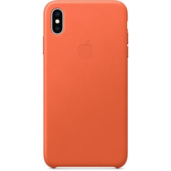 Capa Pele Apple para iPhone XS Max - Pôr do Sol