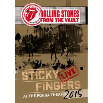 From The Vault: Sticky Fingers – Live At The Fonda Theatre 2015 (DVD)