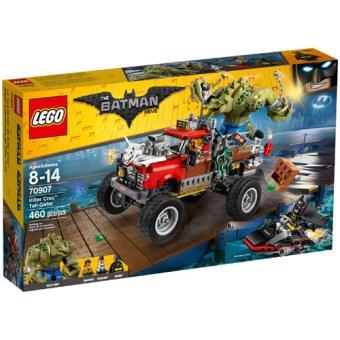 The LEGO Batman Movie 70907 O Tail-Gator do Killer Croc