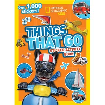 Things that go sticker activity boo