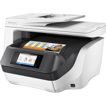 HP OfficeJet Pro 8730 AiO 2400 x 1200DPI Jato de tinta térmico A4 24ppm Wi-Fi Cinzento multifunções