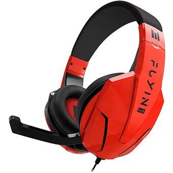 Auscultadores Gaming Indeca Fuyin 2 - Vermelho
