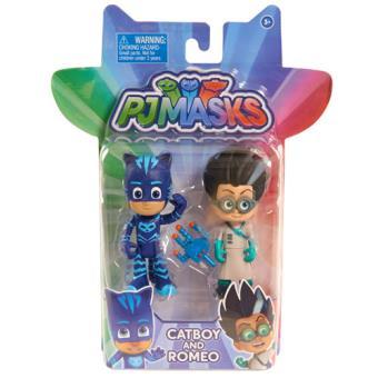 PJ Masks Pack 2 Figuras - Bandai - Envio Aleatório