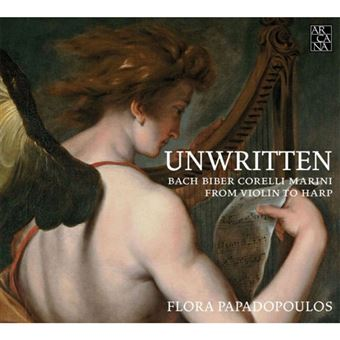Unwritten: From Violin to Harp - CD