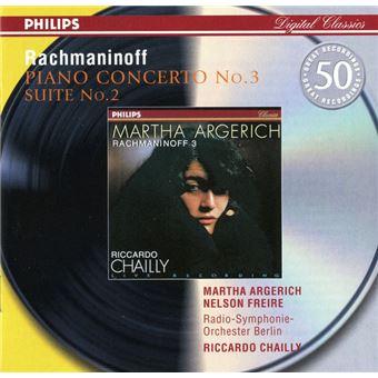 Rachmaninov: Piano Concerto No. 3 in D minor, Op. 30 - CD