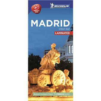 Plano Plastificado Madrid