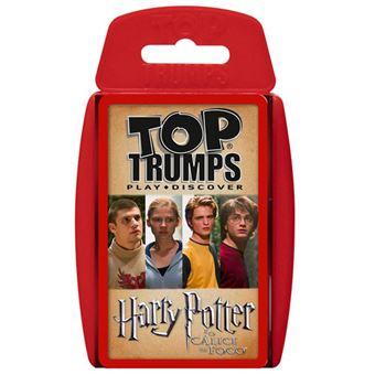 Jogo de Cartas Top Trumps Harry Potter - Creative Toys