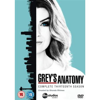 Grey's Anatomy - Season 13 - DVD Importação