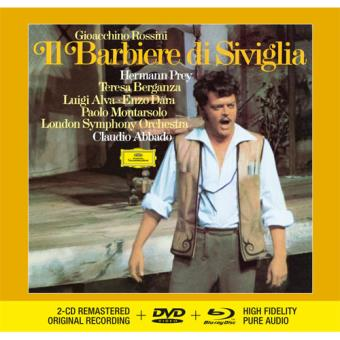 Rossini: Il Barbiere di Siviglia - 2CD + DVD + Blu-ray