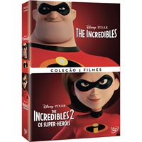 Pack Incredibles 1 + The Incredibles 2: Os Super-Heróis - DVD