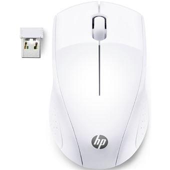 Rato Wireless HP 220 - Branco Neve