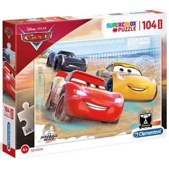 Puzzle Maxi Cars - 104 Peças - Clementoni