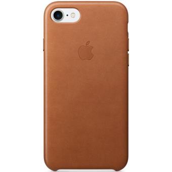 Apple Capa Pele para iPhone 7 (Castanho Sela)