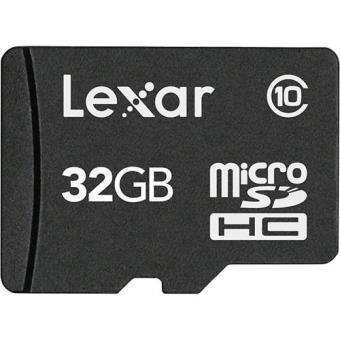 Lexar microSDHC 32GB Classe 10 + Adaptador