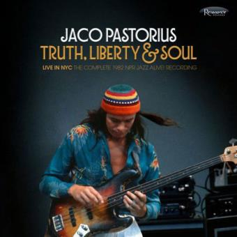 Jaco pastorius truth liberty soul live in nyc 2cd cd truth liberty soul live in nyc stopboris Image collections