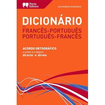 Dicionário Moderno de Francês/Português - Português/Francês