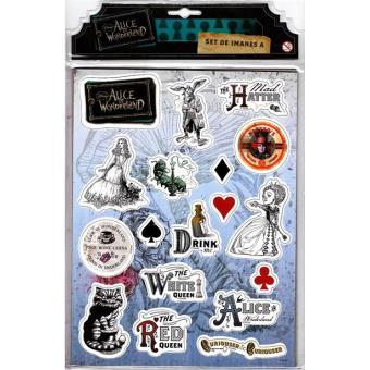 Alice in Wonderland - Pack Ímans Set A