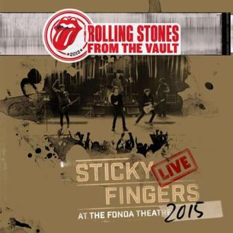 From The Vault: Sticky Fingers – Live At The Fonda Theatre 2015 (DVD+CD)