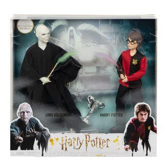 Pack 2 Figuras Harry Potter E Voldemort