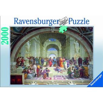 Puzzle Raffaello - A Escola de Atenas (2000 peças)