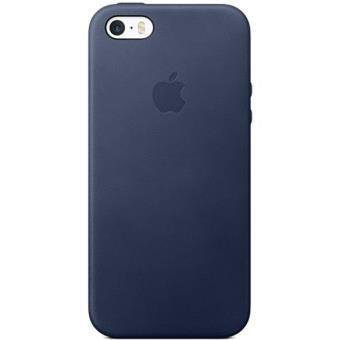 Apple Capa Pele para iPhone SE/5s/5 (Midnight Blue)