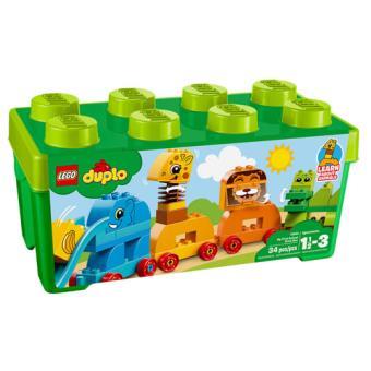 LEGO DUPLO Creative Play 10863 A Minha Primeira Caixa com Peças de Animais