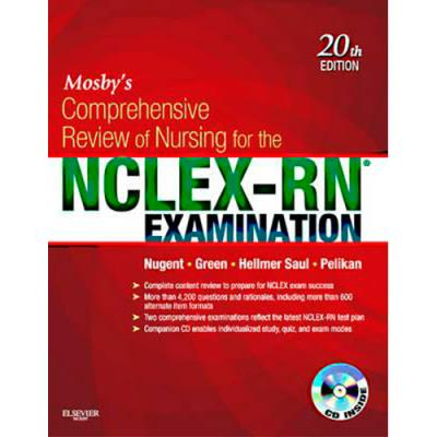 Mosby s comprehensive review of nursing for nclex rn examinationg fandeluxe Images