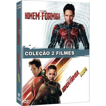 Pack Homem-Formiga + Homem-Formiga e a Vespa - 2 DVD