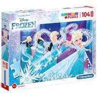 Puzzle Maxi Frozen - 104 Peças - Clementoni